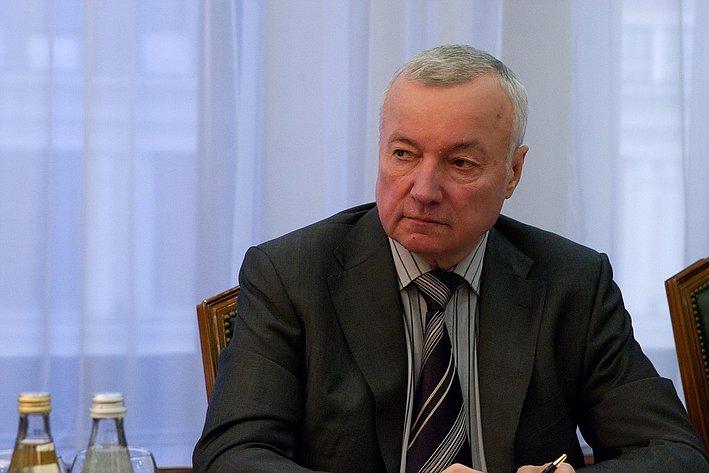 В. Кулаков на встрече с Президентом Федерального совета Австрийской Республики Райнхардом Тодтом