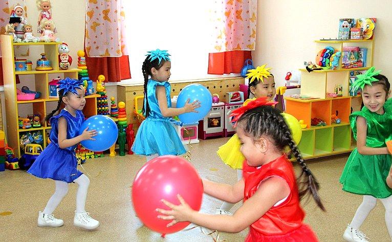 Открытие дополнительных корпусов детских садов «Номин» села Амитхаша и«Аленький цветочек» городского округа «Поселок Агинское»