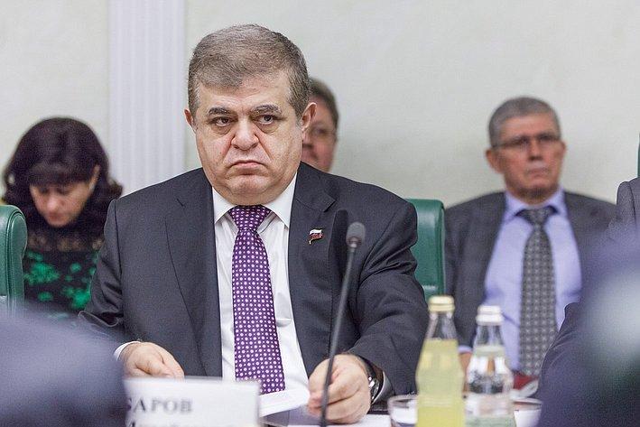 В. Джабаров Итоговое заседание Комитета общественной поддержки жителей Юго-Востока Украины