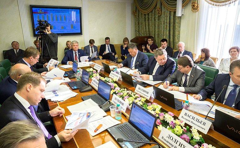 ВСФ состоялось заседание Комитета СФ поэкономической политике