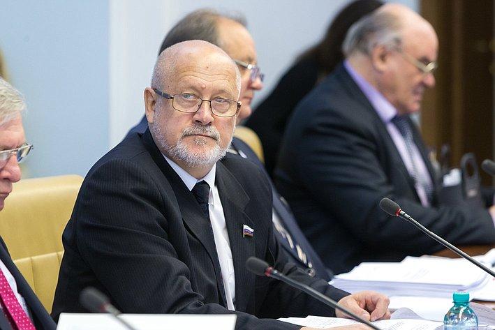 А. Соболев Расширенное заседание Комитета СФ по науке, образованию и культуре