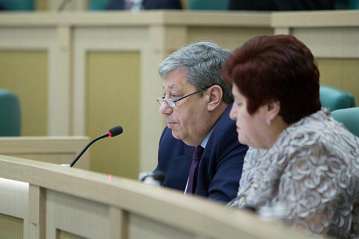 Чернецкий 383-е заседание Совета Федерации