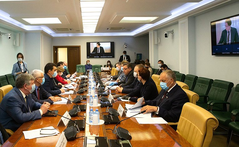 Совещание Временной комиссии СФ посовершенствованию правового регулирования всфере государственного имуниципального контроля