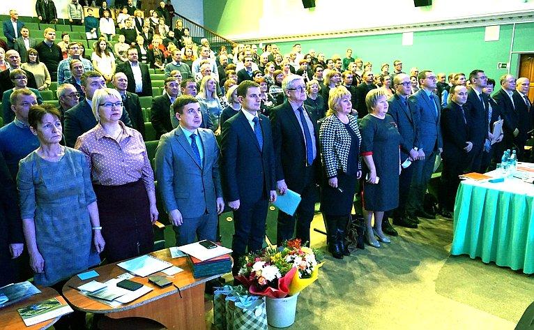 Дмитрий Шатохин принял участие вработе Усть-Куломской конференции представителей коми народа