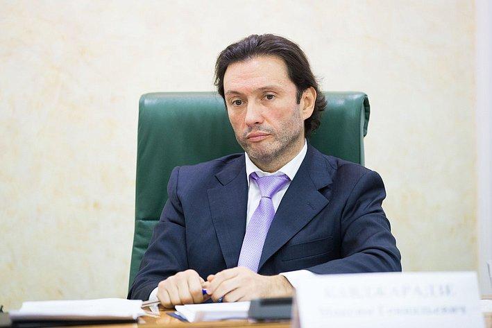 Кавджарадзе Парламентские слушания, посвященные вопросам оздоровления российской банковской системы