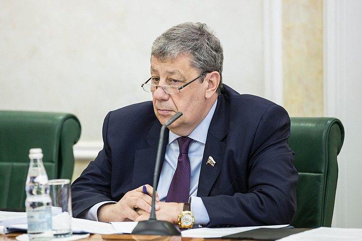 Заседание Совета по вопросам жилищного строительства и содействия развитию ЖКХ Чернецкий