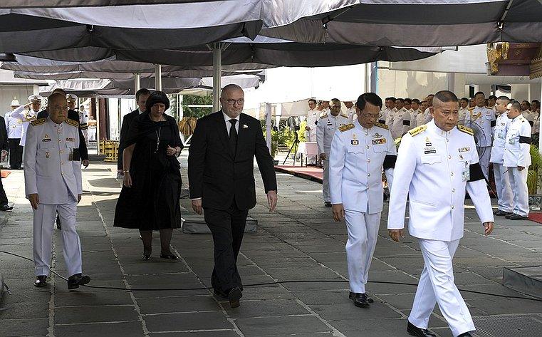 Визит делегации СФ вТаиланд