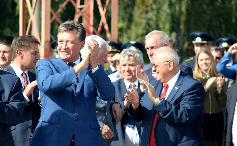 С. Рябухин поздравил жителей Ульяновской области соткрытием после реконструкции международного аэропорта имени Н.М. Карамзина
