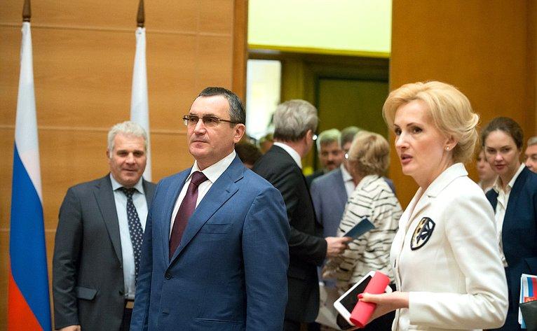 Первый заместитель Председателя Совета Федерации Н. Федоров
