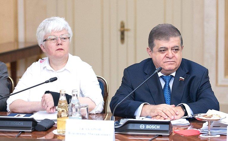 Ольга Тимофеева иВладимир Джабаров