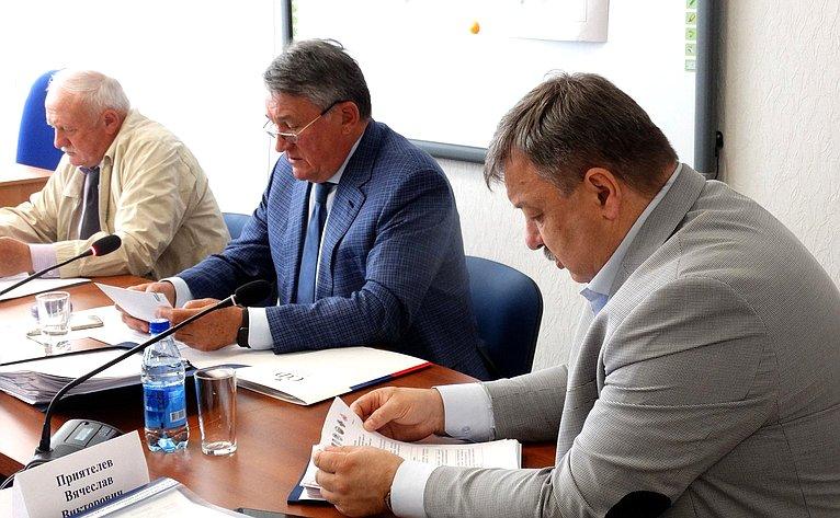 Юрий Воробьев провел III заседание оргштаба пореализации инициативного грантового проекта РГО