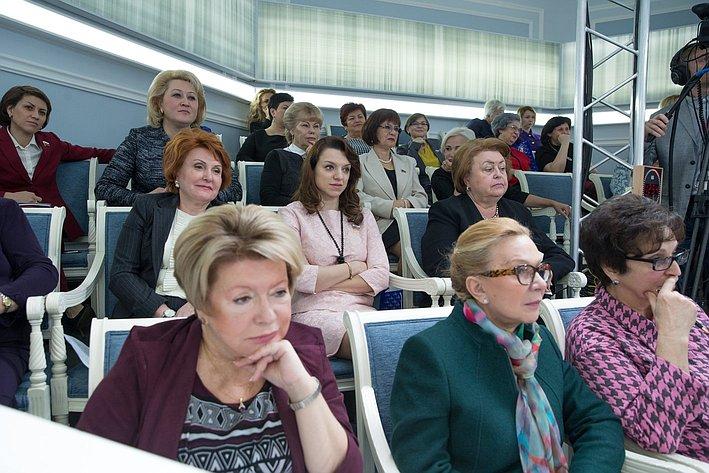 Совещание с лидерами региональных женских общественных организаций