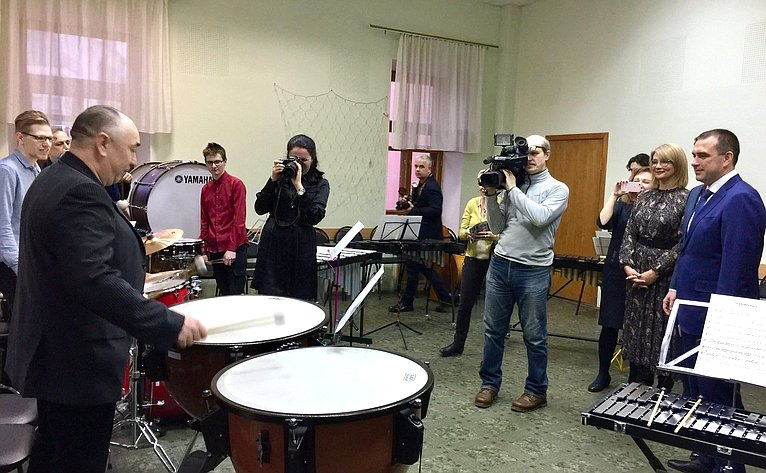 Наталия Косихина посетила Ярославское музыкальное училище (колледж) им. Л.В.Собинова
