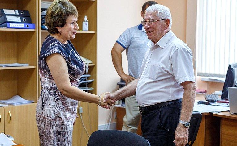 Екатерина Алтабаева провела личный приём севастопольцев