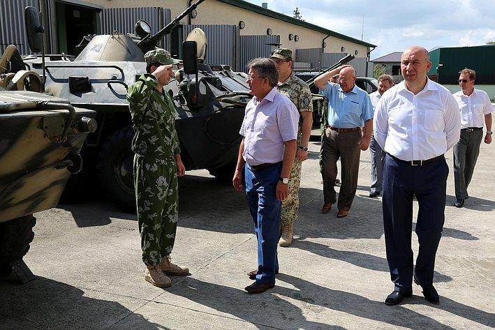 В ходе визита в Республику Абхазия делегация Совета Федерации посетила Пограничное управление ФСБ России