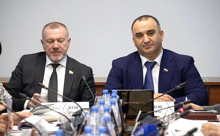 Сергей Горняков иМохмад Ахмадов