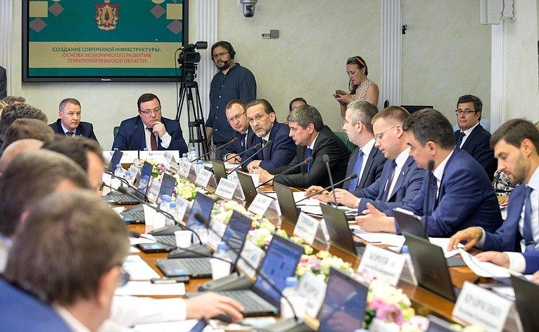 Расширенное заседание Комитета Совета Федерации поэкономической политике натему «Создание современной инфраструктуры: основа экономического развития территорий Рязанской области»