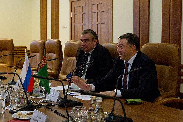 Встреча Умаханова с послом Туркменистана-4