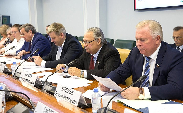 «Круглый стол» Комитета пофедеративному устройству, региональной политике, МСУ иделам Севера