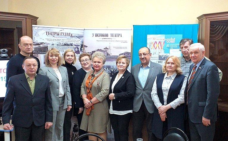 Валерий Марков принял участие вюбилейном заседании Попечительского совета Национальной библиотеки Республики Коми