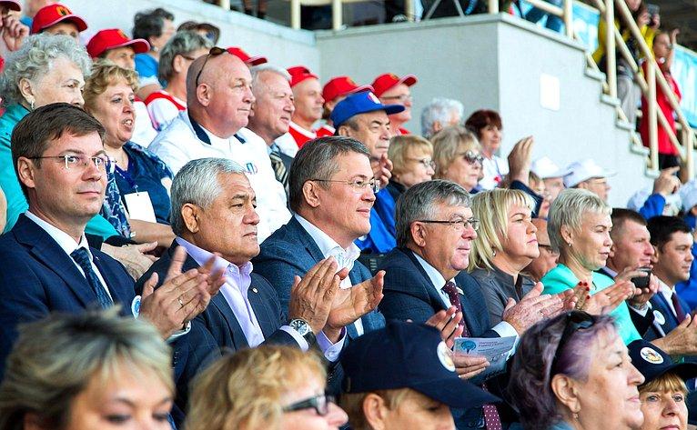 Валерий Рязанский принял участие воткрытии заключительного этапа VI Спартакиады пенсионеров России