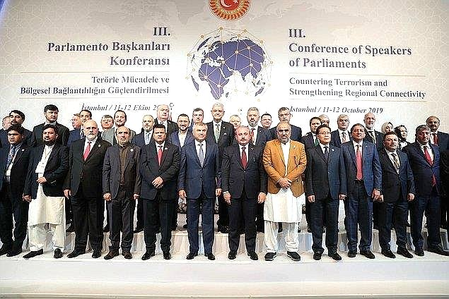 Участие членов Комитета СФ пообороне ибезопасности вработе делегации Совета Федерации вТретьей Конференции спикеров парламентов попротиводействию терроризму имежрегиональному взаимодействию (г. Стамбул, Турция, 11–12 октября 2019г.)