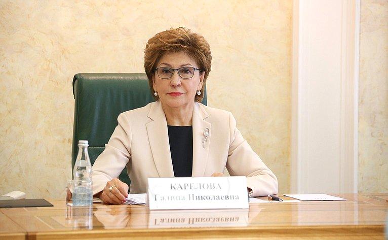 Заседание Временной комиссии СФ посохранению иразвитию народных художественных промыслов вРоссийской Федерации