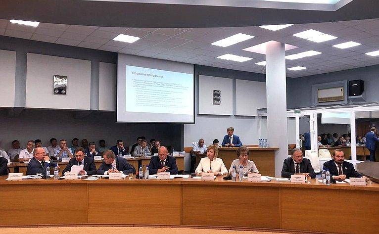 Выездное заседание Комитета СФ поаграрно-продовольственной политике иприродопользованию вКалмыкии