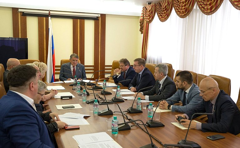 Заседание Комиссии СФ поконтролю задостоверностью сведений одоходах, обимуществе иобязательствах имущественного характера, представляемых членами Совета Федерации