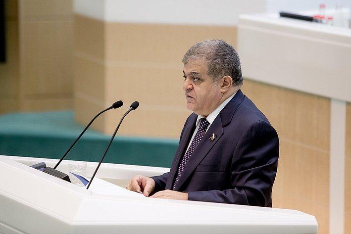 Джабаров 380-е заседание Совета Федерации