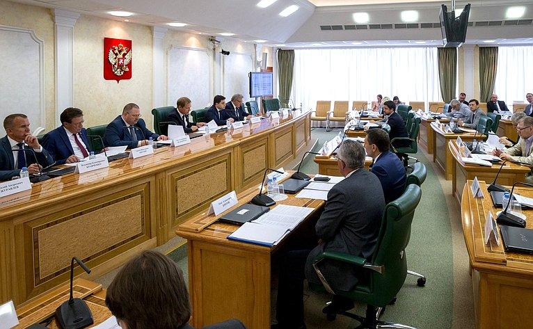 «Круглый стол» натему «Тенденции развития строительной отрасли врамках действующего законодательства Российской Федерации одолевом строительстве»