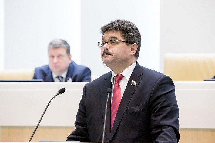 А. Широков 371-е заседание Совета Федерации