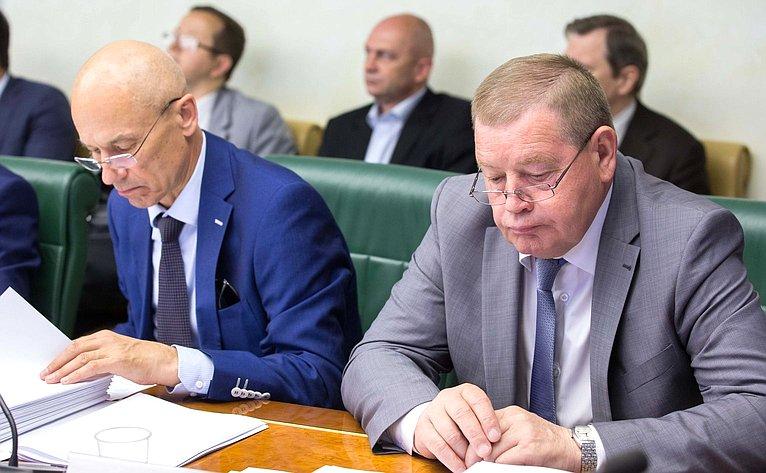 Проходит заседание Комитета Совета Федерации поаграрно-продовольственной политике иприродопользованию
