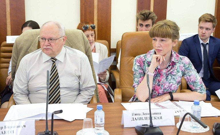 Совещание повопросу совершенствования общих принципов осуществления контрольных полномочий законодательными (представительными) органами государственной власти субъектов РФ