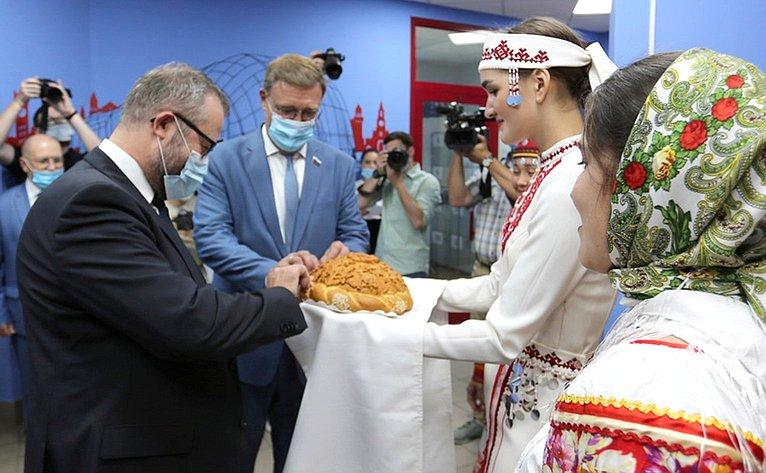Константин Косачев принял участие вцеремонии открытия Института цифровых технологий Марийского государственного университета