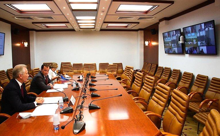 «Круглый стол» натему «Контрафакт непродовольственных товаров: пути решения проблемы» вформате видеоконференции