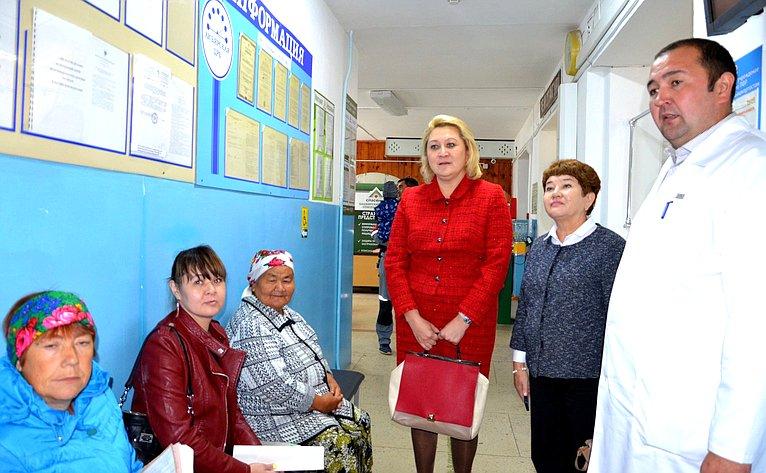 ВХайбуллинском районе Республики Башкортостан состоялся выездной прием врачей ведущих республиканских клиник