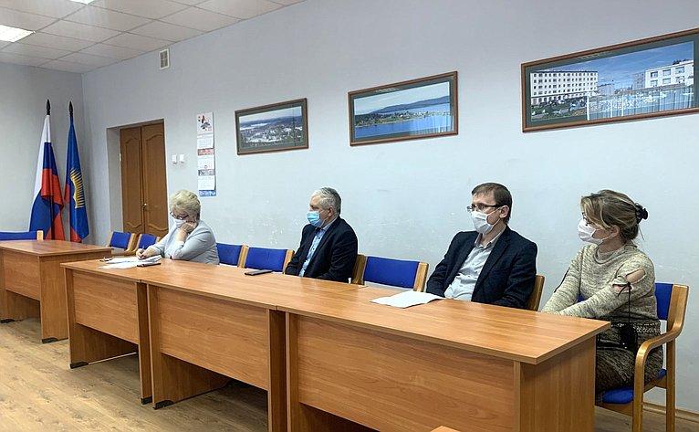 Татьяна Кусайко провела заседание регионального общественного совета повопросам безопасности вшколах