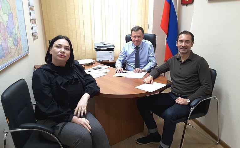 Виктор Новожилов вАрхангельской области