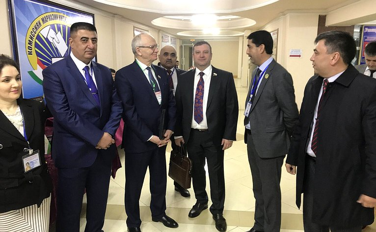 Делегация Совета Федерации вТаджикистане