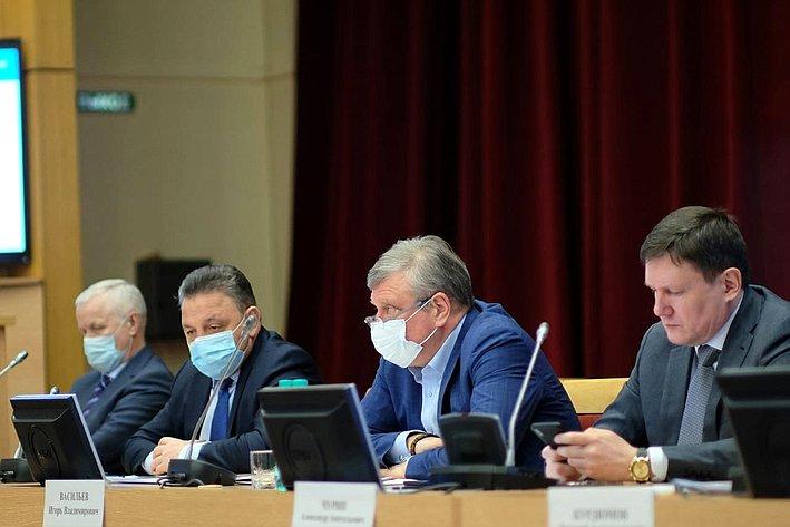 Вячеслав Тимченко входе поездки врегион принял участие врабочем совещании сглавами муниципальных образований региона