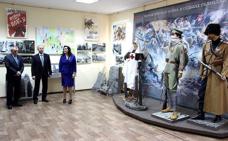 Владимир Бекетов принял участие впраздновании Дня защитника Отечества вГеленджике