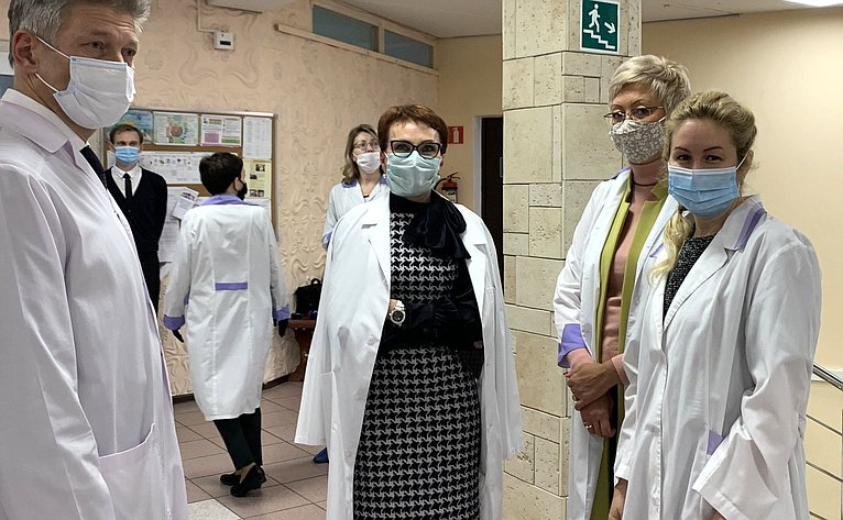 Татьяна Кусайко посетила Мурманский дом-интернат для престарелых иинвалидов