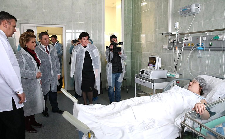 Визит В. Матвиенко вЛипецкую область