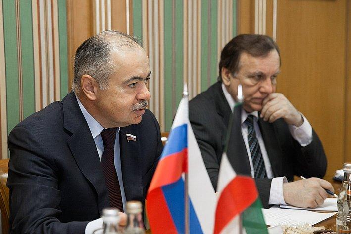 И. Умаханов встреча с послом Кувейта 2