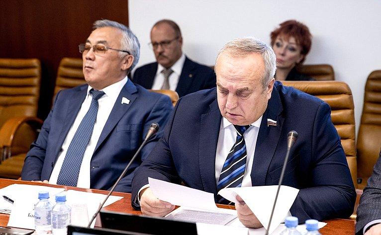 Баир Жамсуев иФранц Клинцевич