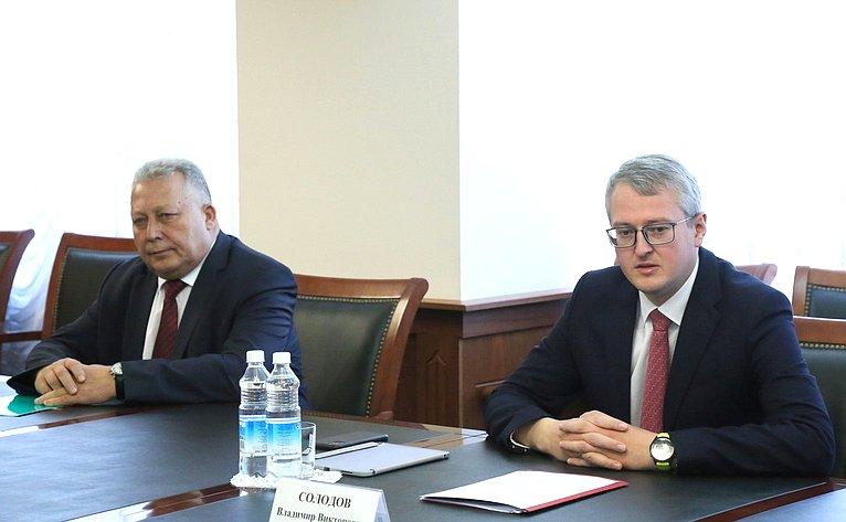 Выездное совещание Комитета СФ пофедеративному устройству, региональной политике, местному самоуправлению иделам Севера