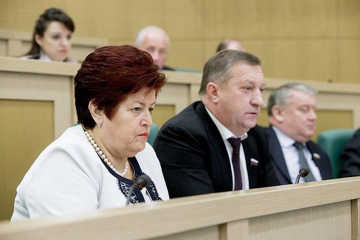 367-е заседание Совета Федерации Козлова