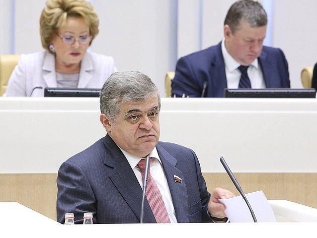 334-е заседание Джабаров