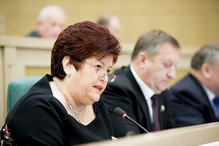 370-е заседание Совета Федерации Л. Козлова